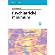 Psychiatrické minimum - Kniha