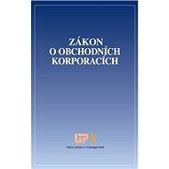 Kniha Zákon o obchodních korporacích - Kniha