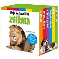 Moje knihovnička Zvířata: Mazlíčci, divoká zvířata, domácí zvířata, mořská zvířata, hmyz, plazi a žá - Kniha