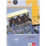 Balíček 5 ks Direkt NEU 1 Němčina pro SŠ: Učebnice+ pracovní sešit, 2CD,cvičebnice německé gramatiky - Kniha
