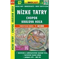 Nízke Tatry, Chopok, Kráľova Hoľa 1:40 000: 475 - Kniha