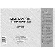 Matematické pětiminutovky 3. díl: Násobení a dělení pro 2. - 5. ročník ZŠ - Kniha