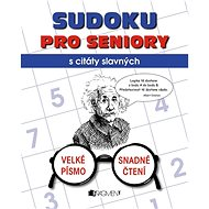 Sudoku pro seniory s citáty slavných - Kniha