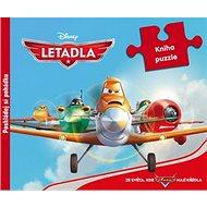 Letadla Poskládej si pohádku: Kniha puzzle - Kniha