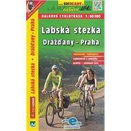 Labská stezka, Drážďany-Praha 1:60 000