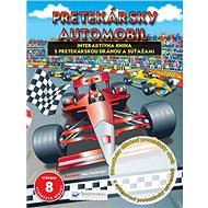 Pretekársky automobil: Interaktívna kniha s pretekárskou dráhou a súťažami