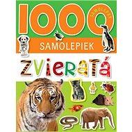 1000 samolepiek Zvieratá - Kniha