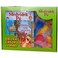 Kufřík Medvídek Pú Klokánek malý objevitel: Obsahuje knihu, knihu samolepek, časopis, puzzle, hračku - Kniha