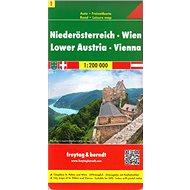 Automapa Dolní Rakousko Vídeň 1:200 000 - Kniha