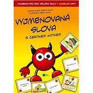 Vyjmenovaná slova s čertíkem Kvítkem: Cvičebnice pro žáky základní školy + kouzelné karty - Kniha