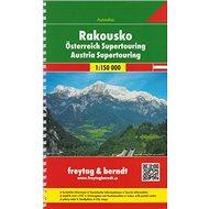 Autoatlas Rakousko supertouring 1:150 000 - Kniha