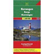 Automapa Norsko 1:600 000 - Kniha