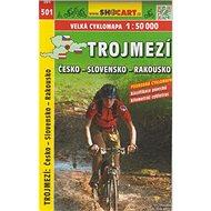 Trojmezí Česko-Slovensko-Rakousko cyklomapa 1:50 000: 501 - Kniha