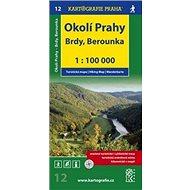 Okolí Prahy Brdy, Berounka: Turistická mapa 12 - Kniha