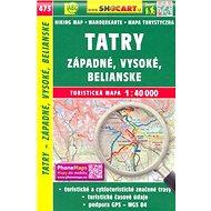 Tatry - Západné, Vysoké, Belianske 1:40 000: 473 - Kniha