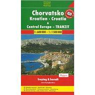 Automapa Chorvatsko a Střední Evropa tranzit 1:600 000