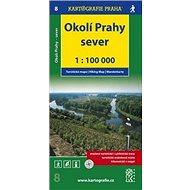 Okolí Prahy Sever 1:100 000: Turistická mapa 8 - Kniha