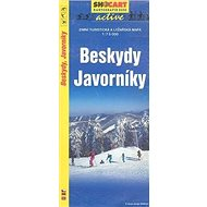 Beskydy Javorníky 1:75 000: Zimní turistická a lyžařská m. - Kniha