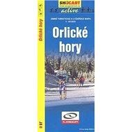Orlické hory 1:50 000: Zimní turistická a lyžařská m. - Kniha