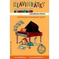 Klavihrátky s pastelkami u klavíru - přípravný pracovní sešit