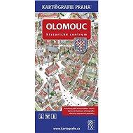 Olomouc Historické centrum: Kreslený plán - Kniha
