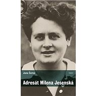 Adresát Milena Jesenská - Kniha