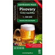 Pivovary České Republiky 1:500 000 - Kniha