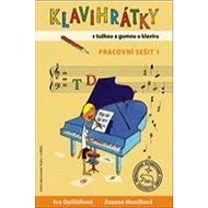 Klavihrátky - s tužkou a gumou u klavíru - pracovní sešit 1 - Kniha