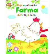 Farma Od tečky k tečce: Moje omalovánka - Kniha