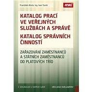 Katalog prací ve veřejných službách a správě: Katalog správních činností - Kniha