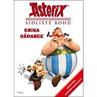 Asterix Sídliště bohů Kniha hádanek: Uprostřed barevné samolepky - Kniha
