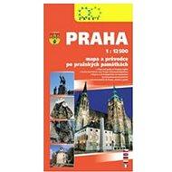 Praha: 1:12.500 mapa a průvodce po pražských památkách - Kniha