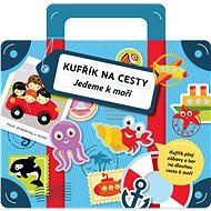Kufřík na cesty jedeme k moři: Kufřík plný zábavy a her na dlouhou cestu k moři - Kniha
