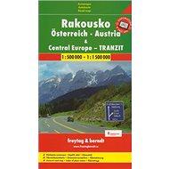 Automapa Rakousko a Střední Evropa tranzit 1:500 00/1:1 500 - Kniha