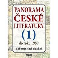 Panorama české literatury 1: do roku 1989 - Kniha