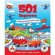 501 Doprava: Velká pátračka pro bystré děti - Kniha