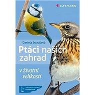 Ptáci našich zahrad: v životní velikosti - Kniha