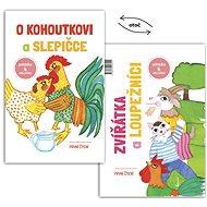 O kohoutkovi a slepičce/ Zvířatka a loupežníci - Kniha