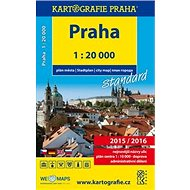 Praha plán města 1:20 000 - Kniha