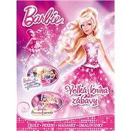Barbie Velká kniha zábavy: Úkoly, pexeso, hádanky, omalovánky - Kniha