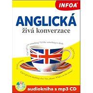 Anglická živá konverzace Audiokniha s mp3 CD - Kniha