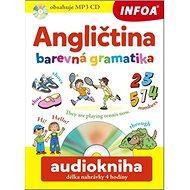 Angličtina barevná gramatika + CD: audiokniha délka nahrávky 4 hodiny