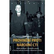 Provinění proti národní cti - Kniha