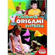 Origami Oblíbená zvířátka - Kniha