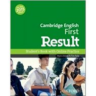 Cambridge English First Result Student´s Book with Online Practice Test - Kniha