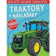 Traktory a náklaďáky: Nejlepší soubor samolepek - Kniha