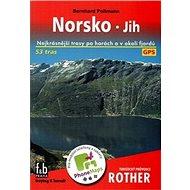 Turistický průvodce Rother Norsko: Nejkrásnější trasy po horách a v okolí fjordů - Kniha