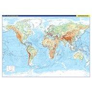 Svět nástěnná obecně zeměpisná mapa: S lištami v tubusu, 1 : 22 000 000 - Kniha