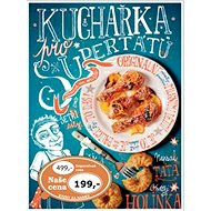 Kuchařka pro supertátu - Kniha