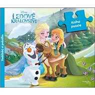 Ledové království Kniha puzzle: poskládej si pohádku